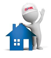 remax man selling a house